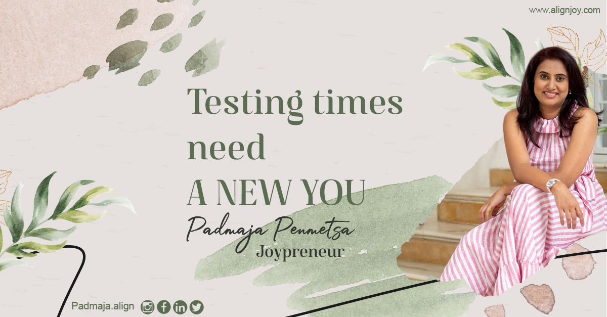 Testing times need a New You